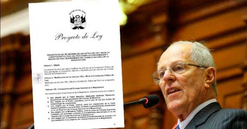 Conoce el proyecto de reforma constitucional para cambiar la composición del Consejo Nacional de la Magistratura - CNM