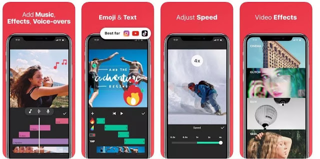 أفضل 5 تطبيقات لتحرير الفيديو لنظام اندرويد وايفون في عام 2020