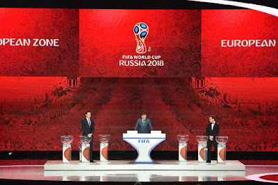 When to draw the World Cup 2018?