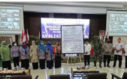 DP3AKB Deklarasi Sekolah Ramah Anak Apresiasi Plt Bupati Kyai Muqit