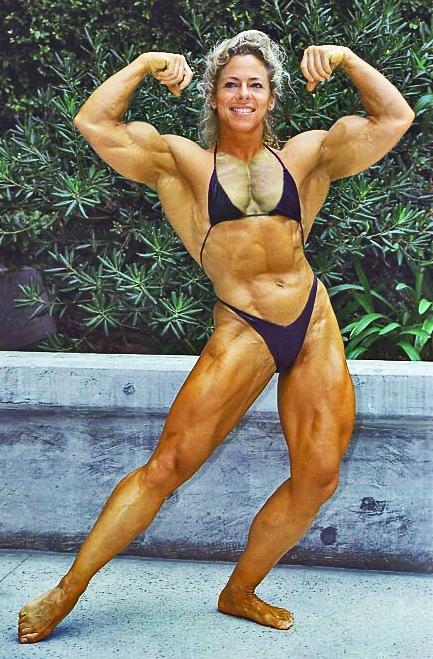 80S Female Muscle Jan Harrell-6171