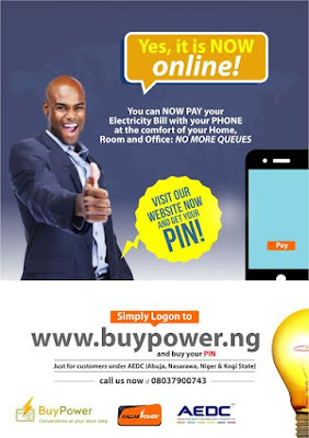 Buypower Ng Online Electricity Bill Payment Now In Abuja