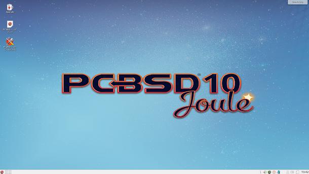 UNIX女子,PC-BSD 10.3 KDE 4.14をインストール