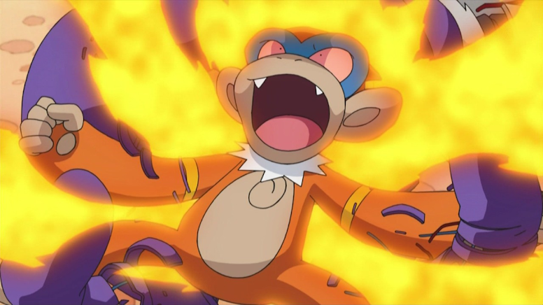 Monferno Blaze