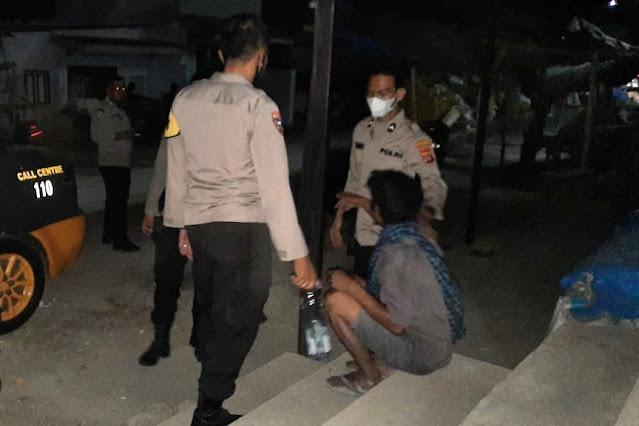 Mabuk dan ganggu warga pasar, seorang pria diamankan Polisi