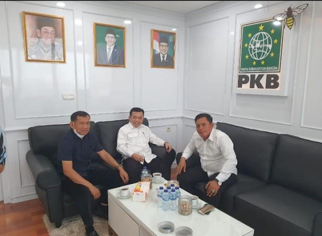 Legislator PKB Asal Jambi di DPR RI Terima Kunjungan Gubernur Jambi Terpilih Al Haris
