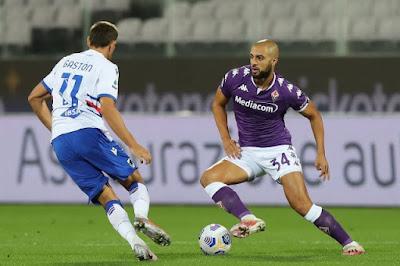 ملخص واهداف مباراة فيورنتينا وسامبدوريا (1-2) الدوري الايطالي
