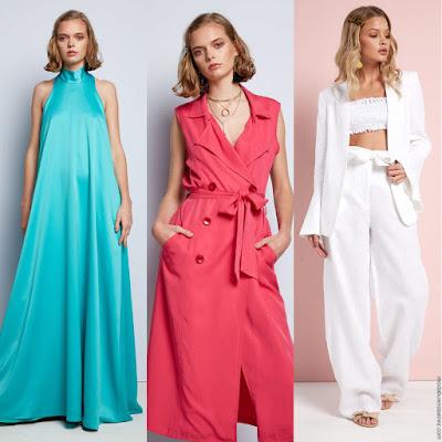 Moda primavera verano 2020 casual chic juvenil. Vestidos. monos, blusas, tops, pantalones de fiesta primavera verano 2020.