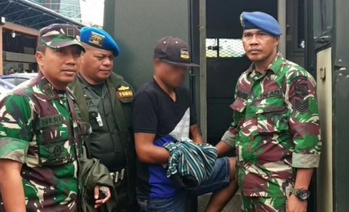 Anggota TNI Terduga Pelaku Penjual Amunisi Kepada Kelompok KKSB Berhasil Diringkus