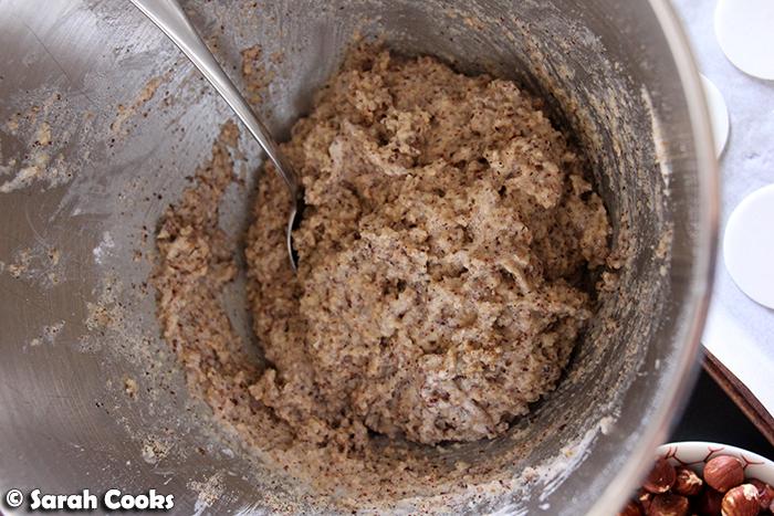Nusßmakronen mixture