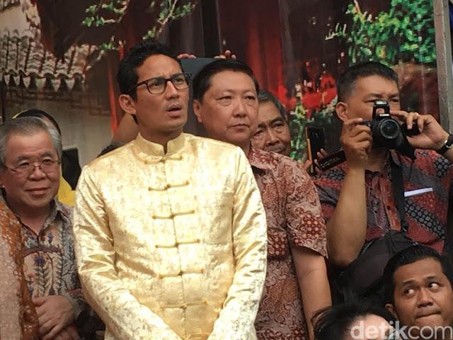 Jelang Tahun Politik, Pesan Luar Biasa Sandiaga Uno Meminta Agar Pilkada 2018 Adem, Damai, dan Kondusif Seperti Di DKI Jakarta.....