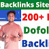 200+ Top High-Quality Dofollow Backlinks Sites List | Backlinks Sites List 2021 |