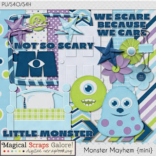 Magical Scraps Galore Group Freebie