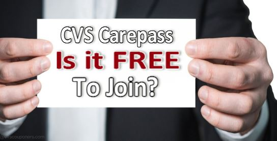 Is CVS CarePass FREE to Join?
