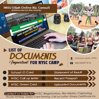 NYSC General Update For Prospective Corp Members