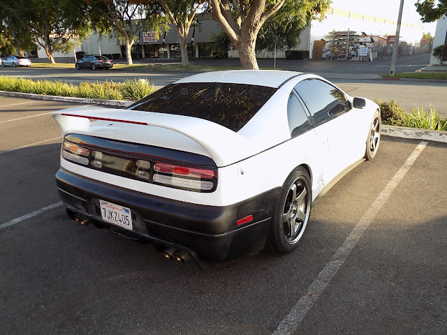 Bumper replacement before paint on 1993 Nissan 300ZX Turbo at Almost Everything Auto Body.