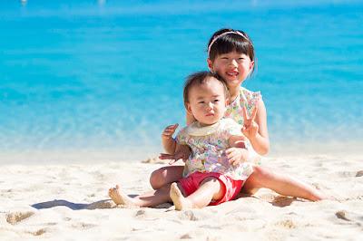沖縄バースデーフォト海