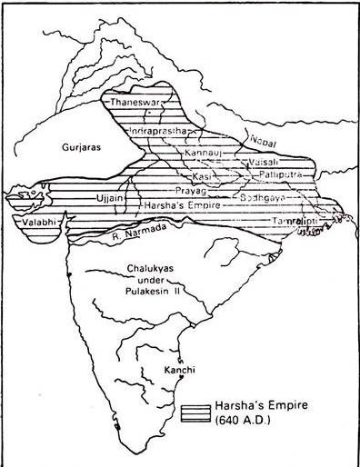Emperor Harsha Vardhana