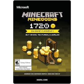 Minecraft Minecraft 1720 Minecoins Pack Media