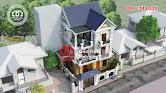 Biệt thự 3 tầng đẹp mái thái tân cổ điển nhẹ nhàng ở Hà Nội - Mã số BT2630 - Ảnh 4