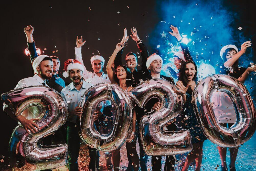 2020, Merry Christmas And Happy New Year