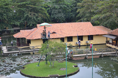 Fasilitas Outbound Tirta Sanita Hot Spring Gunung Kapur