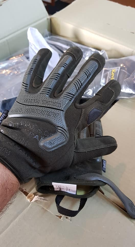 Тактичні рукавички в ЗСУ