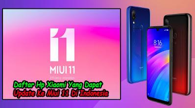 Tipe Hp Xiaomi, Dapat, Update, Miui 11, Di Indonesia, tipe, jenis, xiaomi,