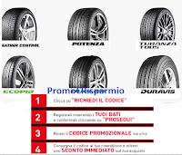 Logo Bridgestone ''Auto Summer 2020'' : fino a 90 euro di sconto immediato! come riceverlo