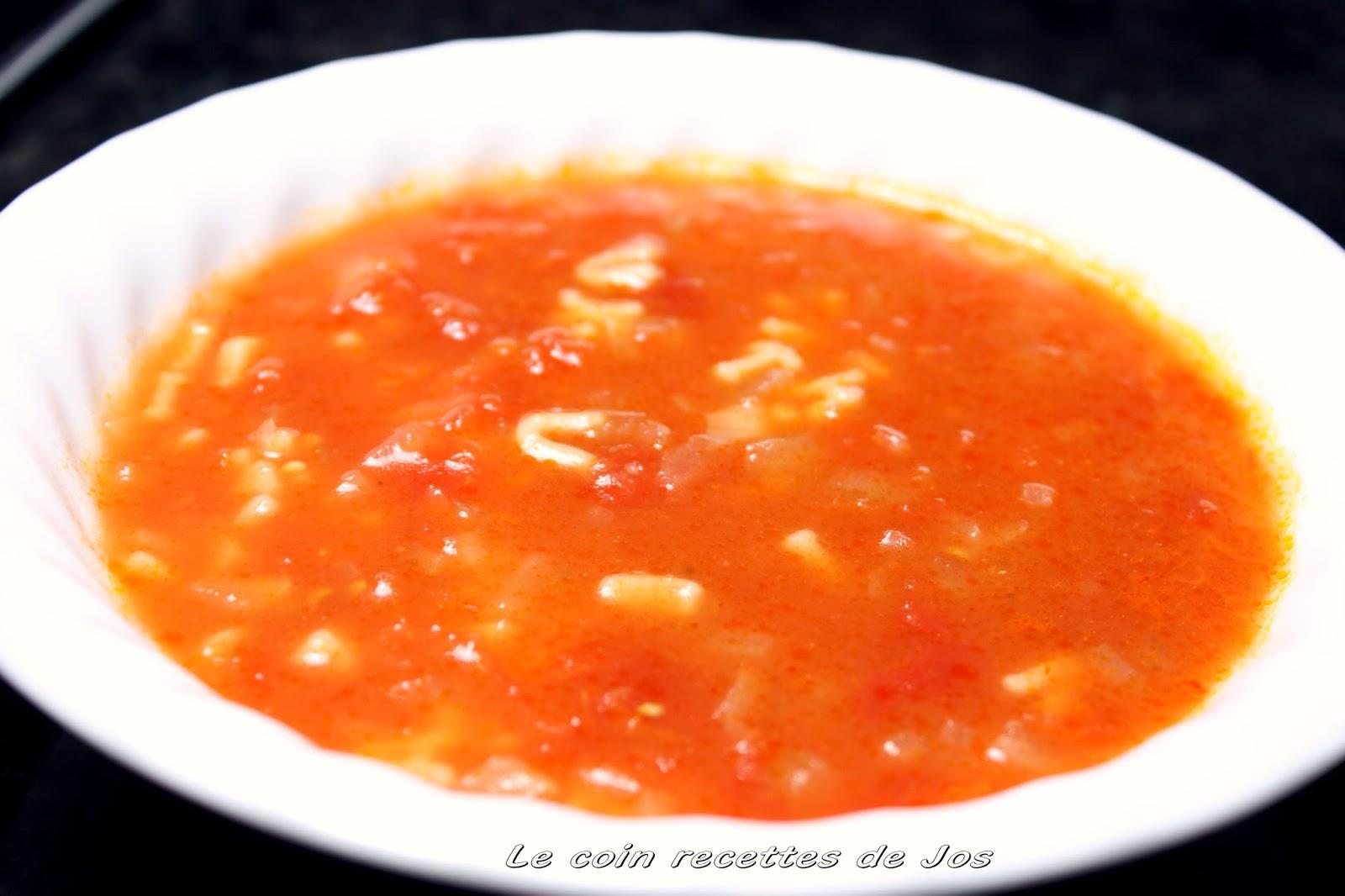 Soupe tomate maison soupe de tomate au thon marin with - Soupe de tomate maison ...