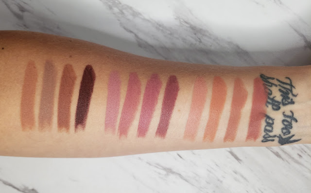 Review: Juvia's Place The Nudes Series Lipsticks, Glosses, and Luxe Liners