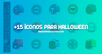 Descarga una colección de +15 íconos para Halloween 2017