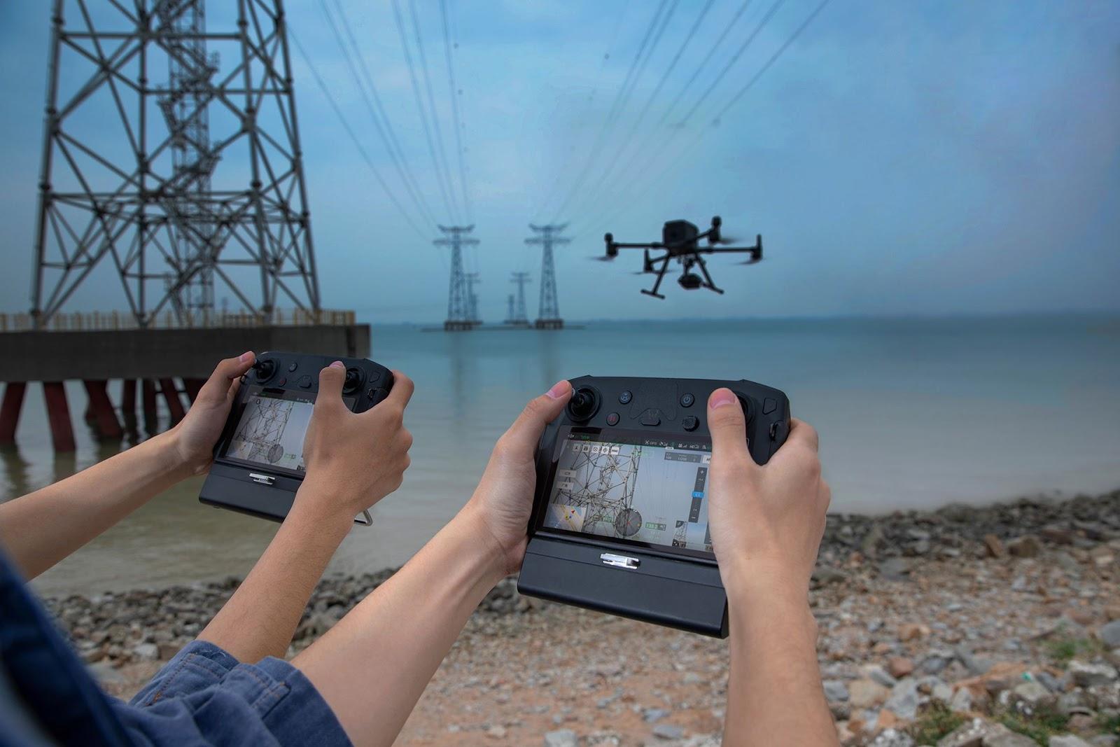 Управление дроном DJI Matrice 300 RTK