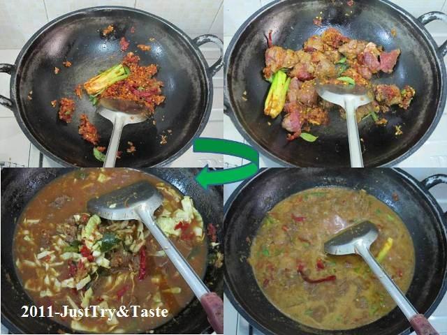 Resep Tongseng Daging Sapi