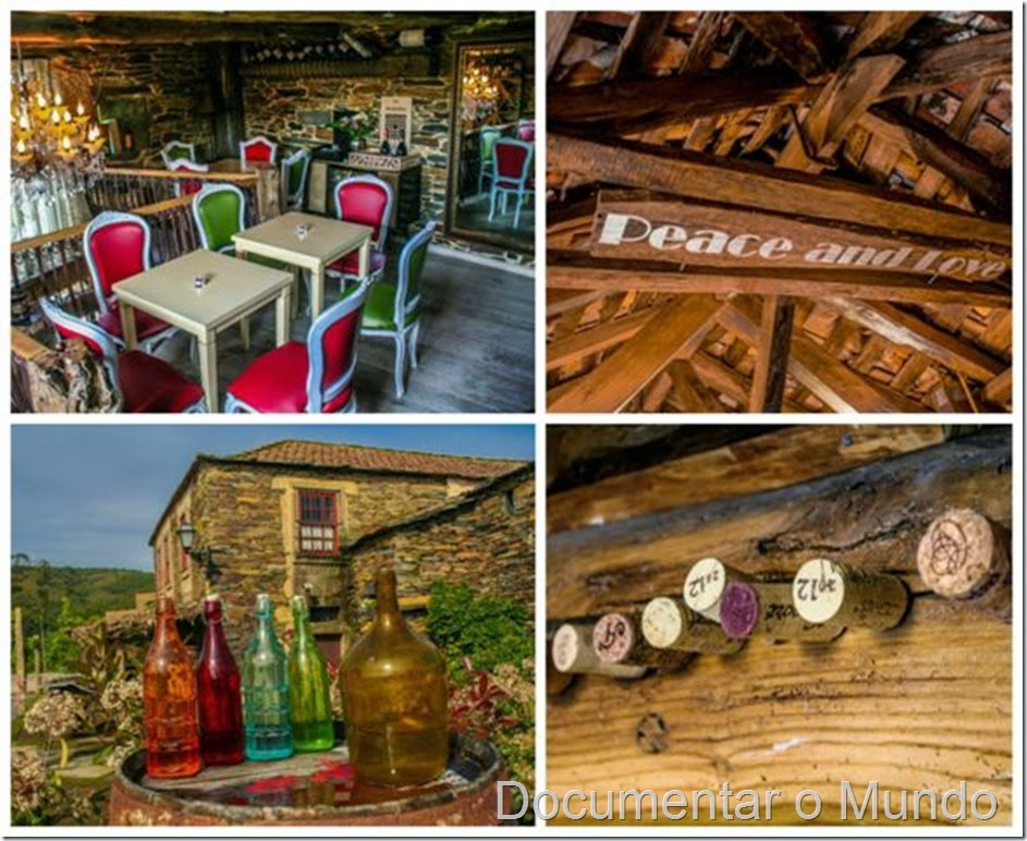 Wine Bar – Casa da Viúva; Aldeia preservada de Quintandona