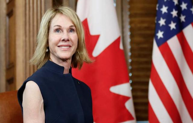 Trump tariffs latest: US ambassador to Canada receives death threat and white powder as trade war looms