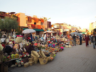 Marrakech medina spices