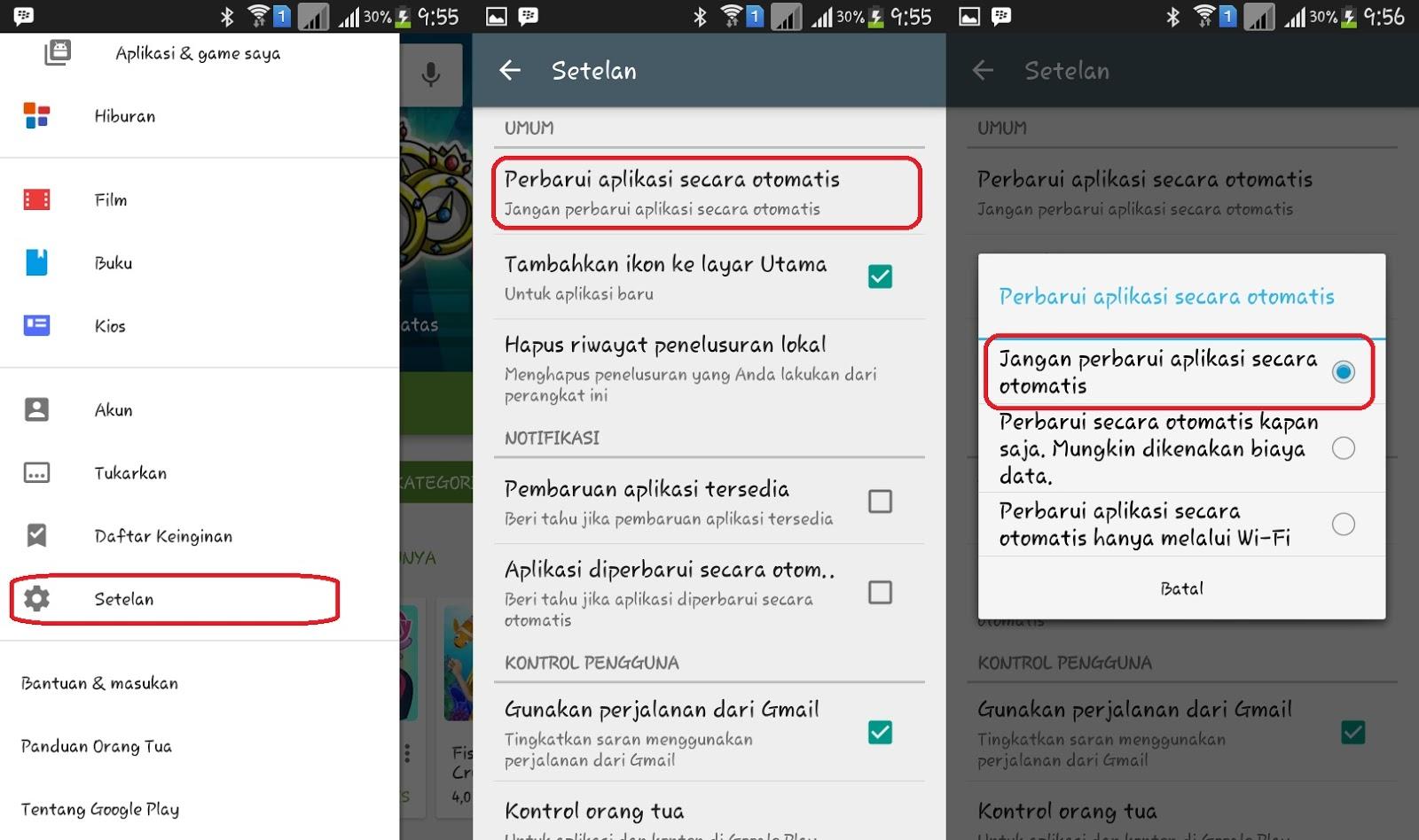 Cara Stop Update Aplikasi Otomatis Agar Android Tidak Lemot