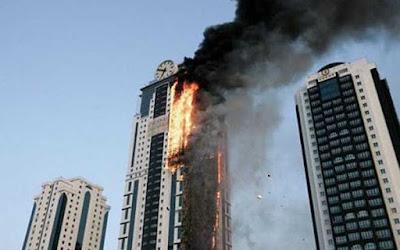 HÌnh ảnh chung cư bị cháy