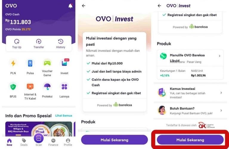 Registrasi OVO | Invest