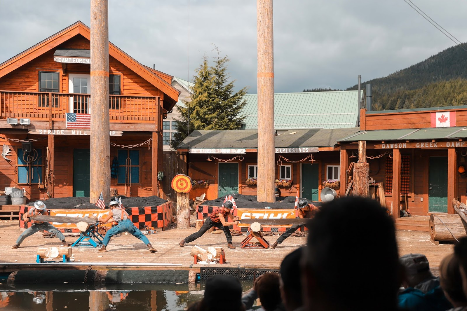 Lumberjack Show in Ketchikan | Travel Guide