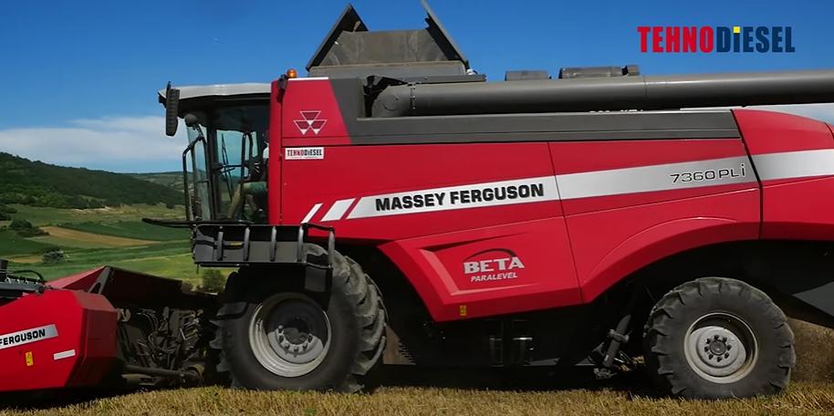 Classification of Massey Ferguson Combine Harvesters