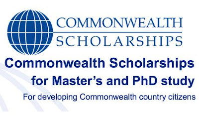 Commonwealth Full-time Masters Scholarship for Developing Countries 2018