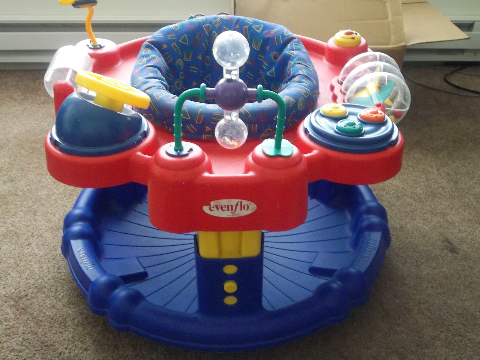 rexsale Baby Discover and Play Stand Bouncer $22
