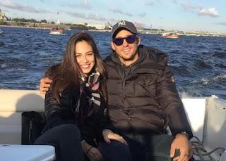 Dusan Lajovic And His Girlfriend Lidija Mikic In Tour