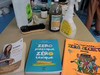 Atelier zéro déchet, produits et livres