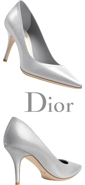 Silver Dior Pumps #brilliantluxury
