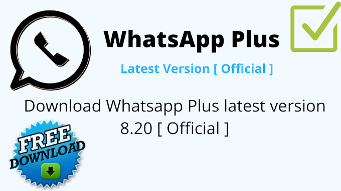 WhatsApp Plus Latest Version APK Download v8.20 | WhatAapp Plus For Android