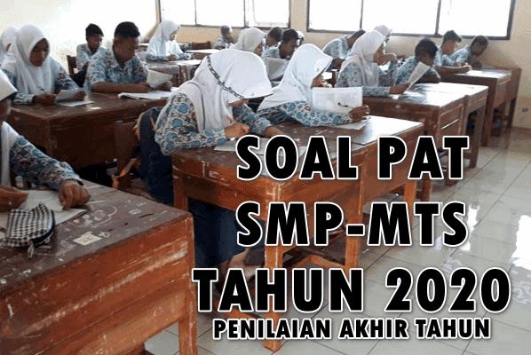 Soal PAT Kelas 7 Bahasa Indonesia Semester 2 Kurikulum ...