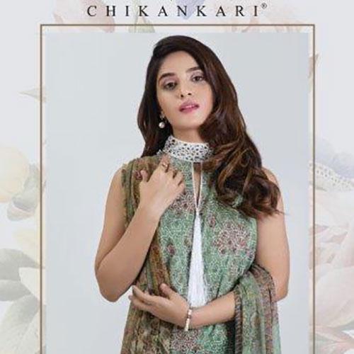 Satrangi Chickenkari Festive Collection 2019